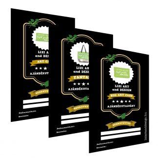 Ajándékutalványok nyomtatható termékekhez